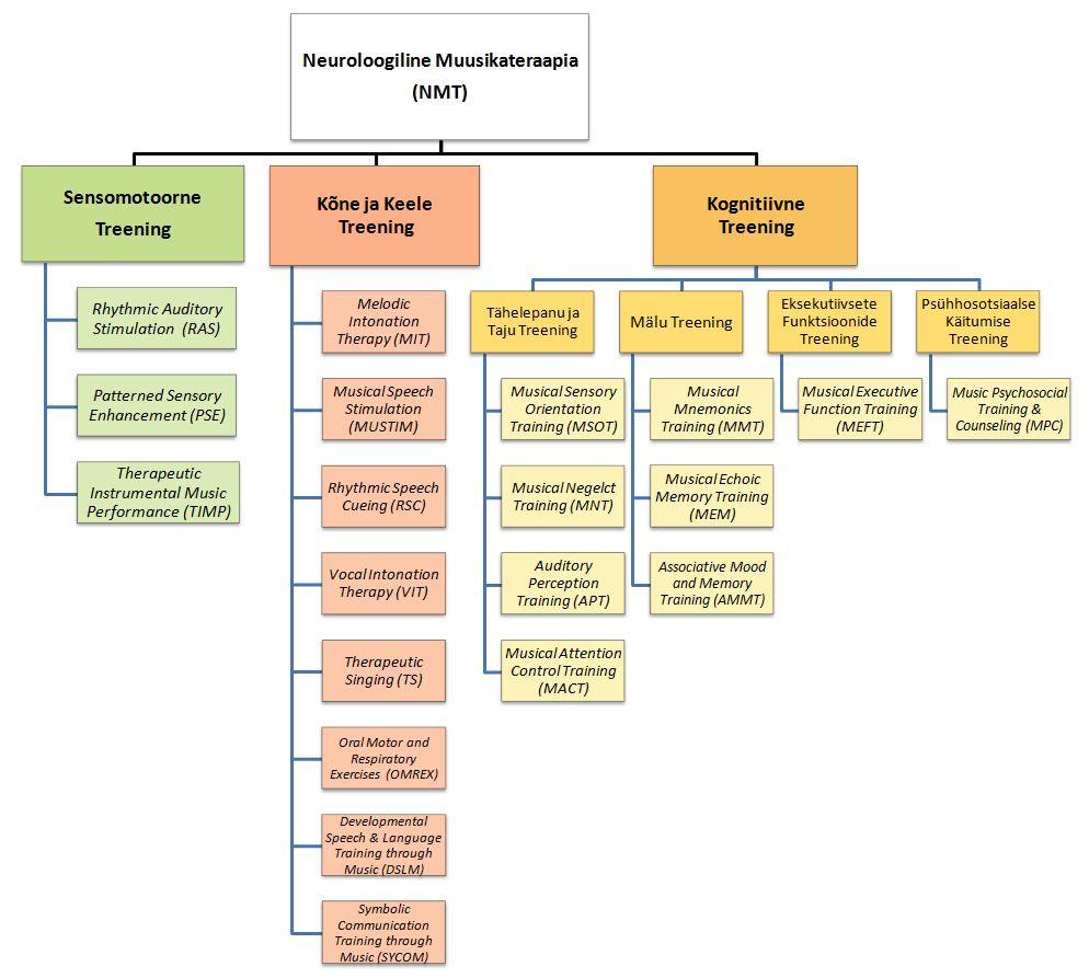 NMT struktuur